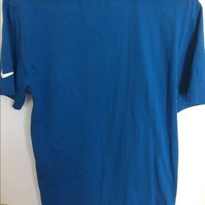 Nike Shirts - Nike golf dri-fit blue size M short sleeve
